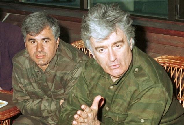 Stojan Zupljanin , Radovan karadzic