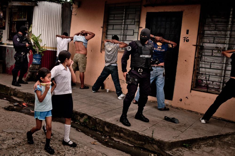 Peace between gangs in El Salvador.
