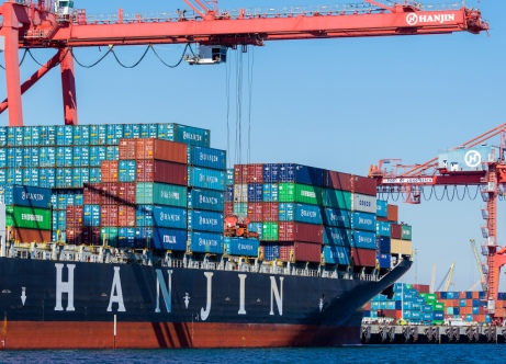 Hanjin Shipping Co.'s Container Ships In Port As Cargo Owners Say Bid To Unload Vessels Isn't Working