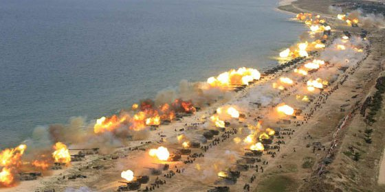 esercitazioni militari corea