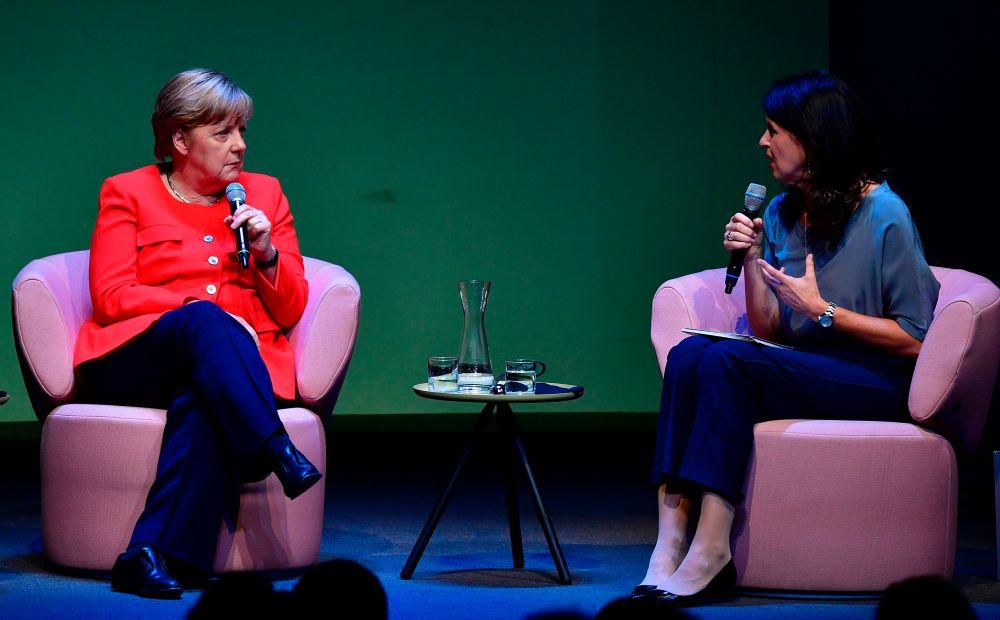 GERMANY-POLITICS-MERKEL-INTERVIEW-BRIGITTE