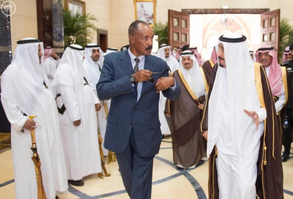 Corno d'Africa-Golfo-Mappa-Eritrea-Etiopia-Arabia Saudita-Qatar-Emirati (3)