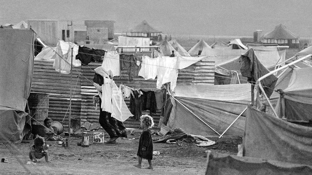 Baqaa Camp in Jordan for Palestinian refugees of the 1967 war - some were refugees from 1948 [The Associated Press].jpg